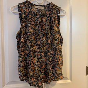 Loft keyhole blouse